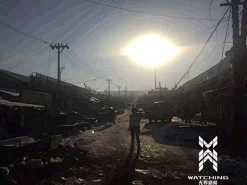 龙煤集团鸡西分公司的滴道矿区,大部分井口已经关停,如今的生活区如农村一样凋敝。无界新闻记者 张庆宁 摄